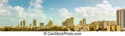 Panorama of South Beach