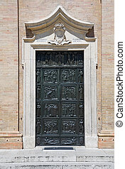 Macerata Portal Church Marche - Sanctuary of Madonna della...