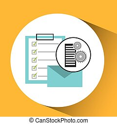 database setting email mail check list