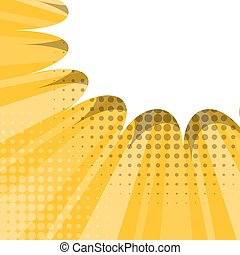 Comic background sketch yellow explosion