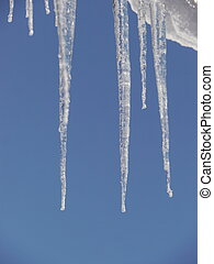 icicles icicle winter - icicles hanging from the roof...