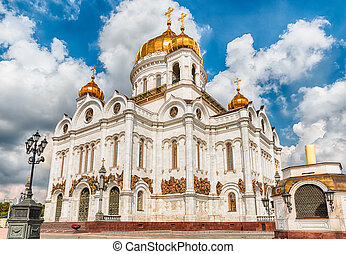 Salvador,  christ,  iconic, Moscou, marco, catedral,  rússia