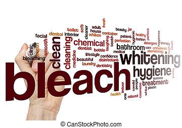 Bleach word cloud