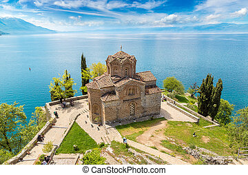 Jovan Kaneo church in Ohrid, Macedonia - Jovan Kaneo church...