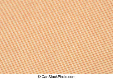 Crinkled cardboard background - Close up of brown crinkled...