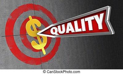 3d quality arrow