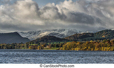 Lake District - A view over Ullswater in the Lake district...