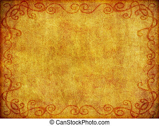 Old Fabric Background Texture - An old, weathered fabric...