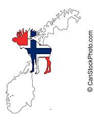 Norwegian moose