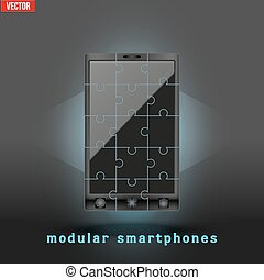 Concept of Modular smartphone. - New concept development of...