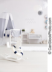 Cute furniture for little dot - Adorable baby room with a...