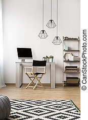 Functional home office - Cozy functional home office with...