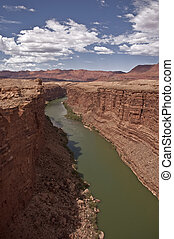 Colorado River Gorge in Northern Arizona