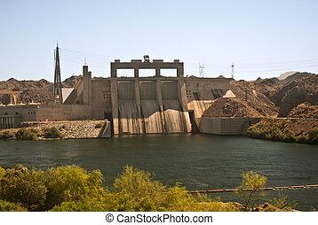 Davis Dam near Laughlin, Nevada