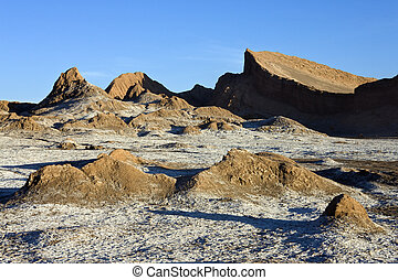 Valley of the Moon - Atacama Desert - Chile - Late afternoon...