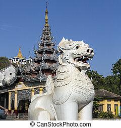 Mandalay - Myanmar - Mandalay Hill in the city of Mandalay...