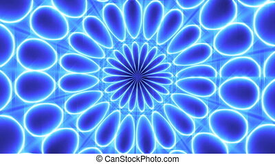 Kaleidoscope Lights. Light Animation