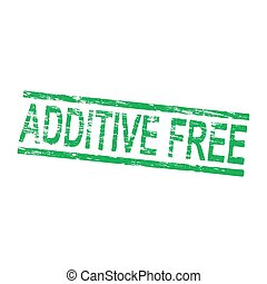 Additive Free Stamp - Additive free grungy rubber stamp...
