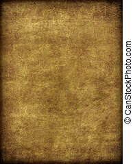 Brown Aged and Worn Burlap Like Texture - A weathered aged...