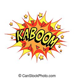 Cartoon Vector Kaboom
