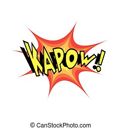 Cartoon Vector Kapow