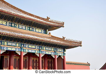 Forbidden City in Bejing in China