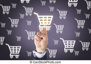 Shopping on Visual Screen