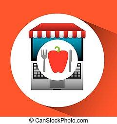 pepper online shopping app