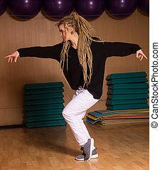 dançarino, dançado,  hip-hop, hábil