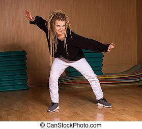 danças, dançarino, hábil,  hip-hop
