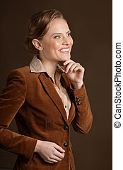 Portrait of young woman - Portrait of happy young woman...