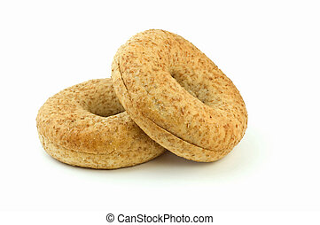 Low fat bagels - Body conscious low fat whole grain wheat...