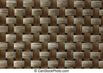 Carbon fiber weave textile - Carbon fiber weave in early...