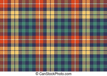 Colors check plaid fabric seamless background