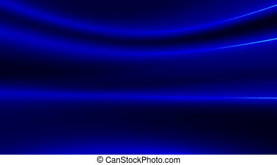 Blue beams looping animated background - Animated abstract...