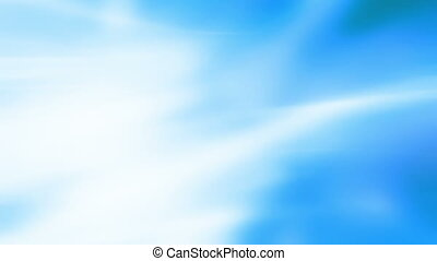 Soft white and blue flowing loop backdrop - Animated soft...