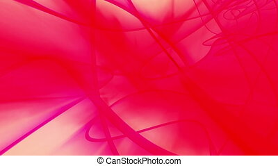 Red abstract looping animation organic - Animated Red...