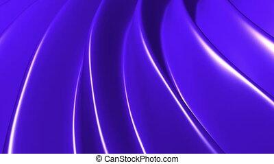 Flowing blue looping waves - Animated flowing blue looping...