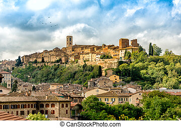 Colle di Val d'Elsa historical center - Historical center of...