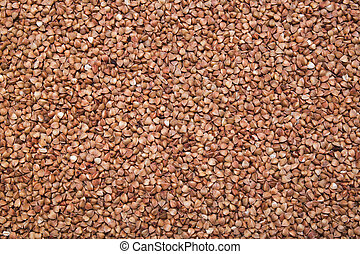 buckwheat background, texture