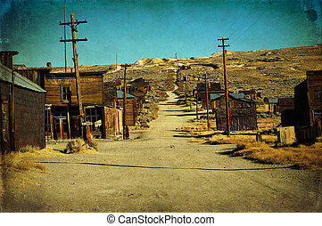 grunge old ghost town western usa - photo grunge old ghost...