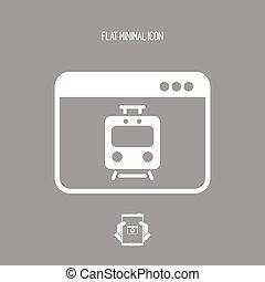 Train web services icon