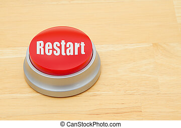 A Restart red push button