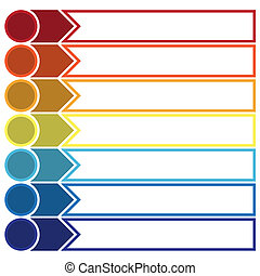Template Infographic strip point 7 - Template Infographic,...