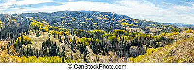 Chama to Antonito - Beautiful mountain scenery with streams,...