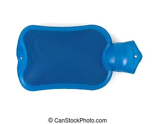 Hot Water Bottle - A hot water bottle isolated against a...