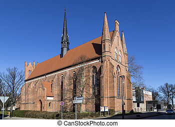 Church of St. John, Neubrandenburg, Mecklenburg Western...
