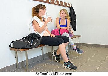 break in the gym