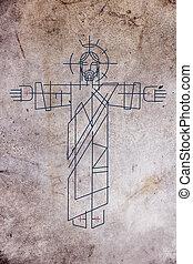 Jesus Christ illustration - Illustration or drawing of Jesus...