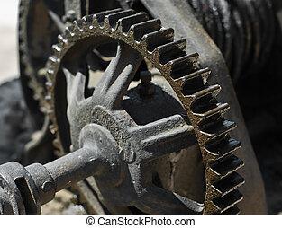 Gearwheel - Rusty gearwheel